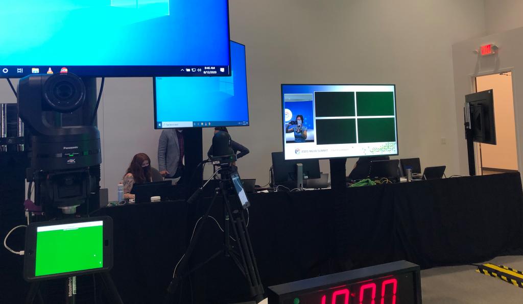 Virtual Meeting Video Production