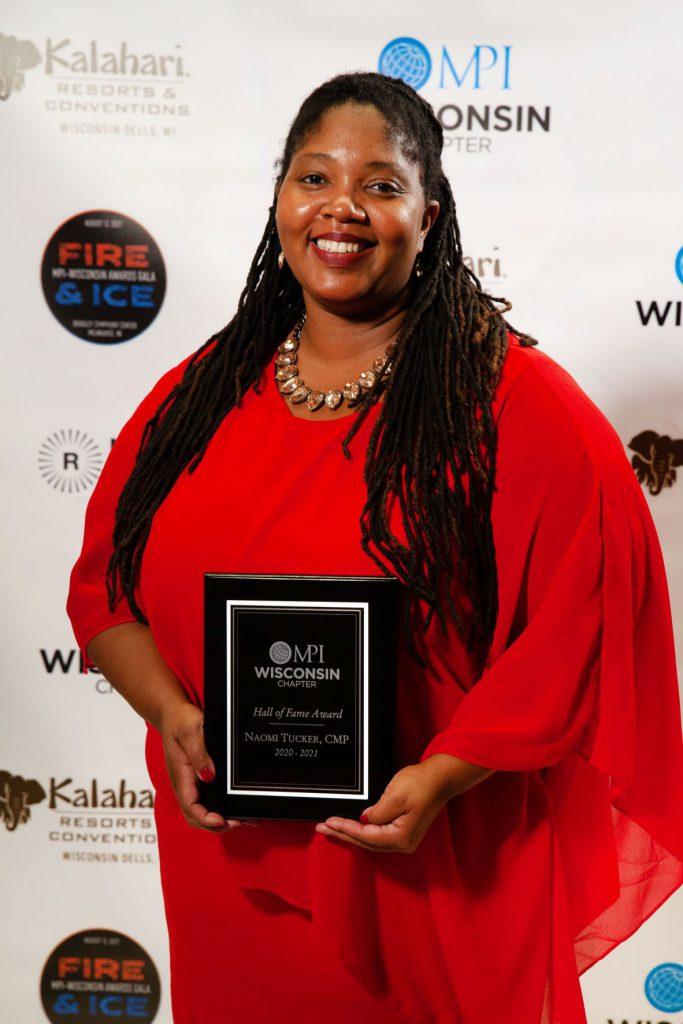 Hall of Fame MPI-WI Naomi Tucker Plaque