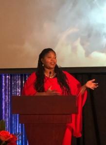 MPI WI Awards Hall of Fame Naomi Tucker Stage